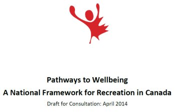 pathways to wellbeing framework for recreation in Canada